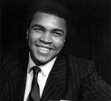 Muhammad Ali. Quotes on creativity