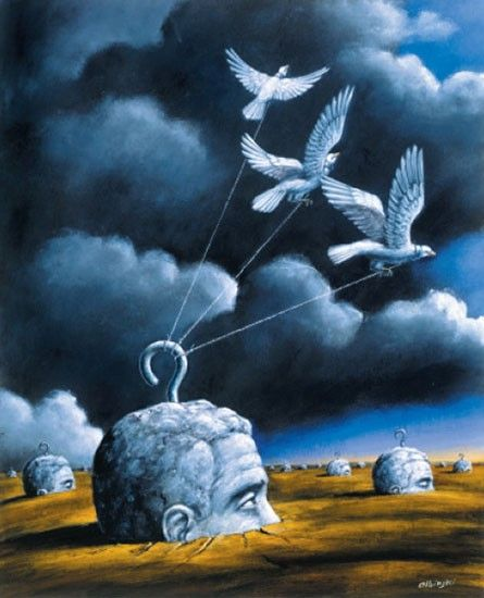 Rafal Olbinski. Enhance creativity