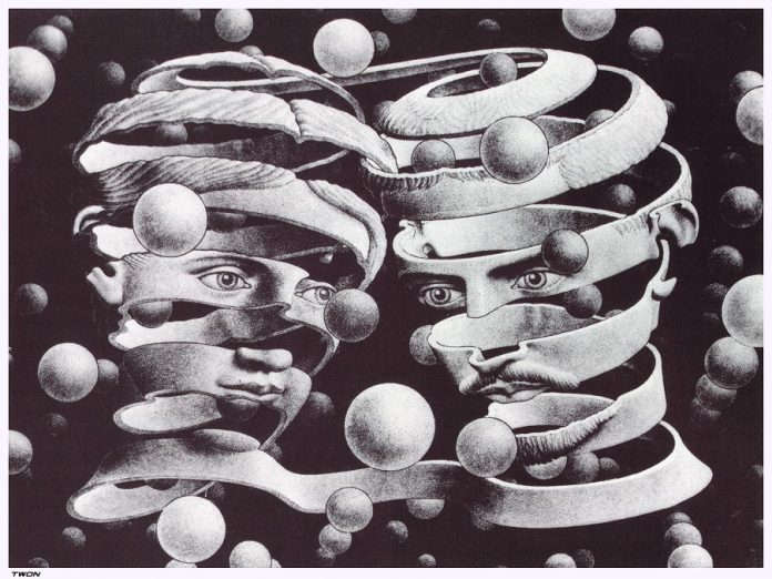 Max Escher Twon. Theory of Genius