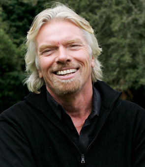 Richard Branson. Leaders on Creativity