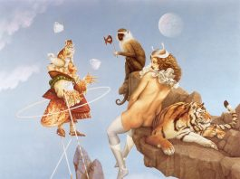 Surrealism artwork by Michael Parkes, increase your creativity