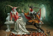 Michael Cheval. Creative dialogue