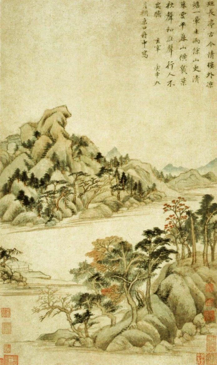 Dong Qichang . Chinese painter