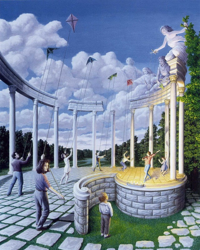 Rob Gonsalves Creativity