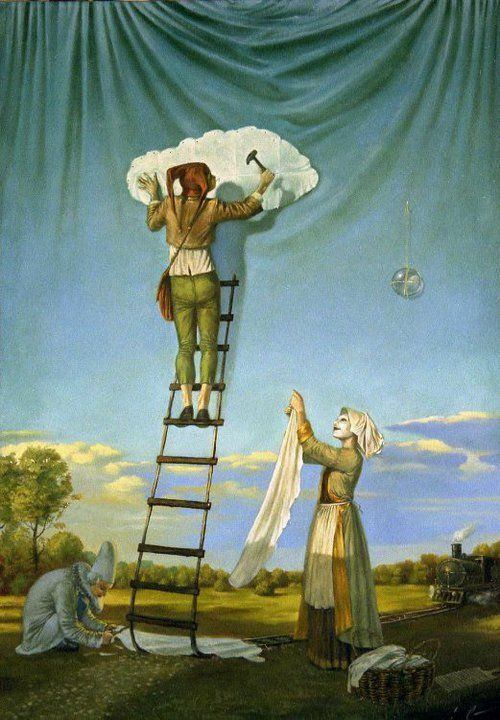 Michael Cheval. Surrealistic Oil Paintings