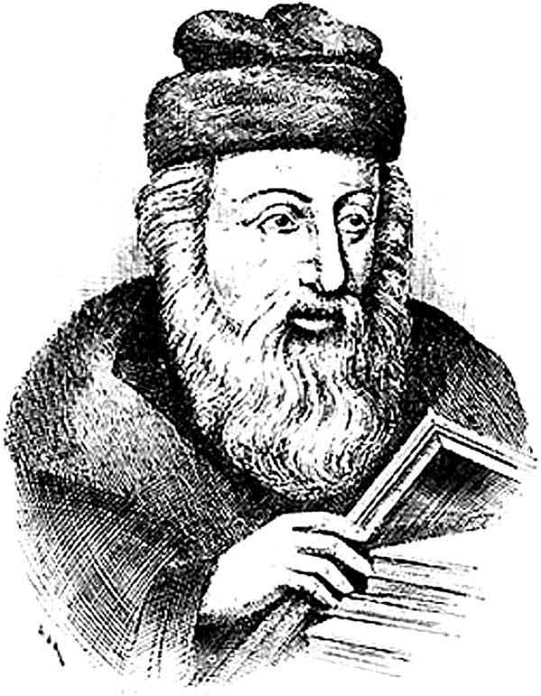 Portrait by Rabbi Akiva